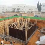 מפקח בניה מקצועי, בניית מרתף, תפקיד מפקח בניה, פיקוח בניה, בית בזמן תהליך הבניה